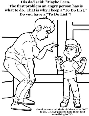 coloring pages for angry children