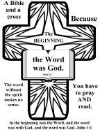 Bible coloring