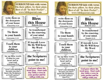 Bible verses for parents