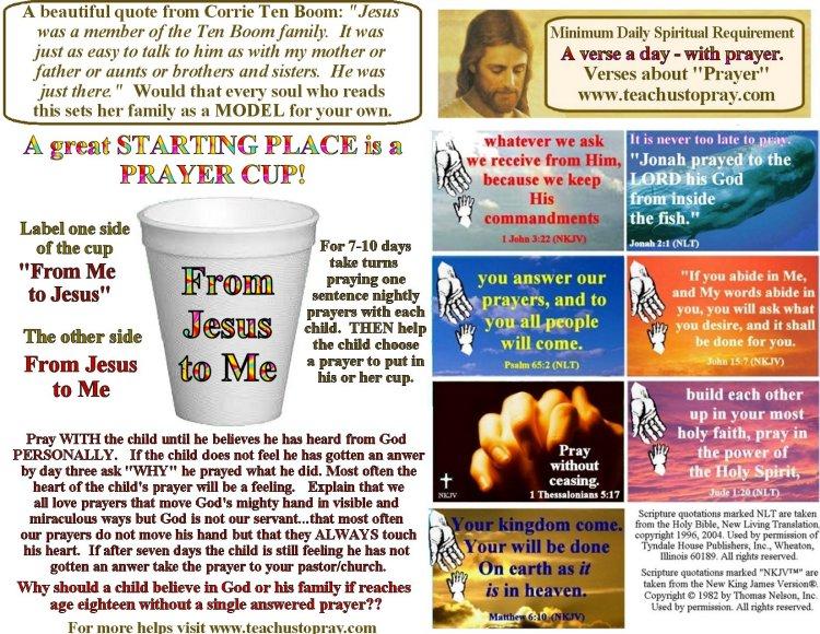 Bulletin Insert National Day of Prayer