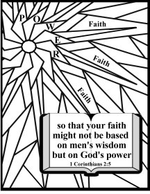Free Scripture coloring page love