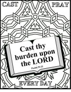 Bible Coloring broken families