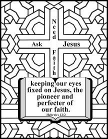 bible coloring faith 2