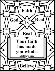 Faith Coloring Pages Coloring Pages