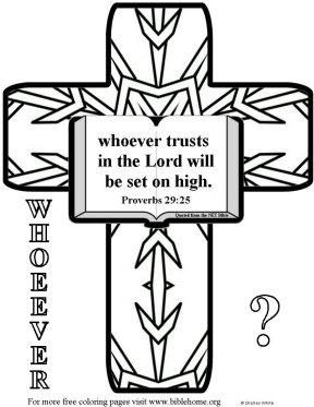 Bible coloring-