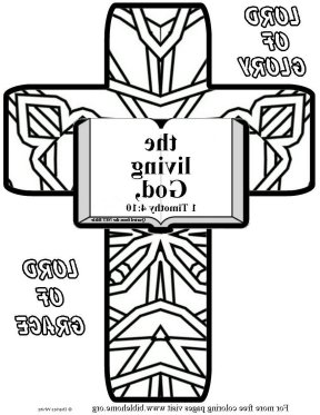 Bible coloring- trust m