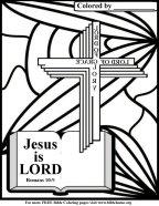 scripture coloring, Jesus