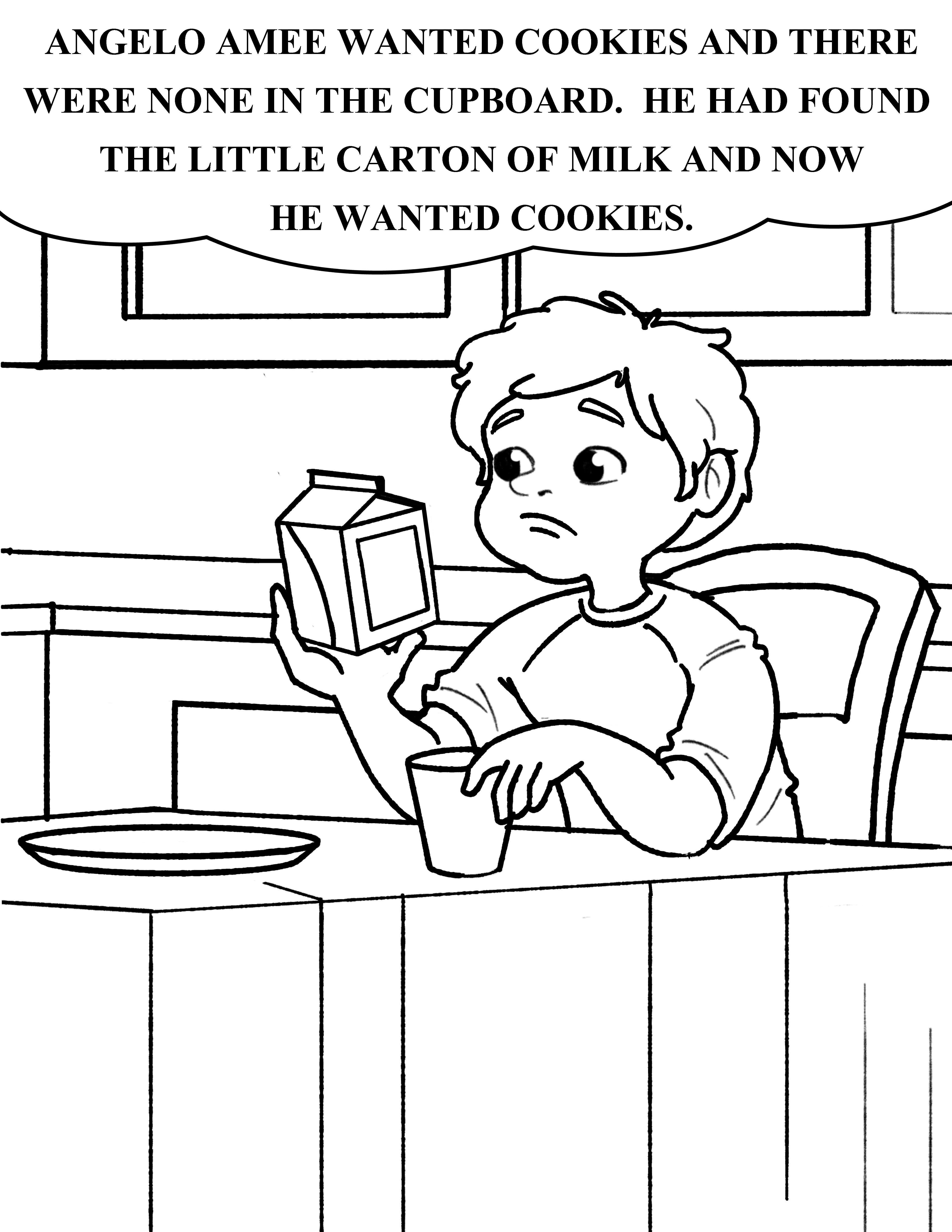 Bible coloring page about God