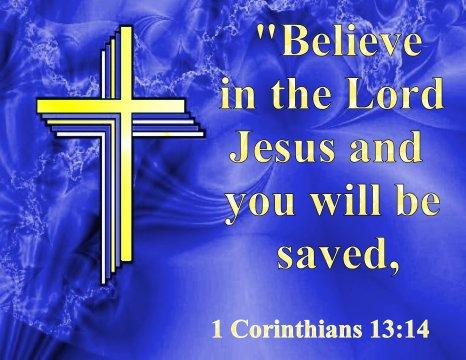Bible Poster-1 Corinthians 13:14