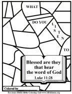 Free Bible Coloring