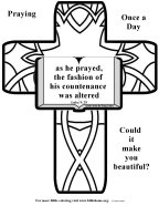 Bible Coloring about Beauty 4
