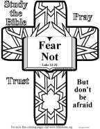 VBS craft about Fear 2
