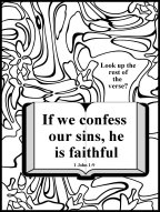 confess your sin