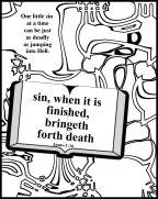 Sin brings death