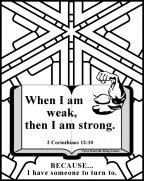 Bible Coloring Strength #1
