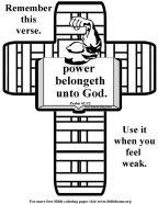 Bible Coloring Strength #5
