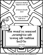 Bible Coloring Strength mirror6