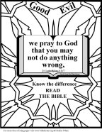 Bible Coloring Pray</p>