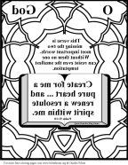 Mirror Bible Coloring  way out of
